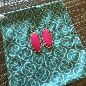 Pink Kendra Scott Earrings